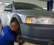 Замена рулевой тяги Вольво ХС70