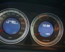 ХС60 — пробег 171561 км  замена передних амортизаторов